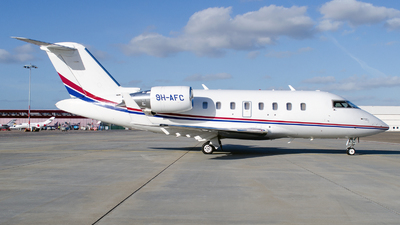 A picture of 9HAFC - Bombardier Challenger 605 -  - © Dutch