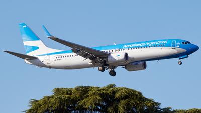 A picture of LVFWS - Boeing 7378LP - Aerolineas Argentinas - © Christian Mandel