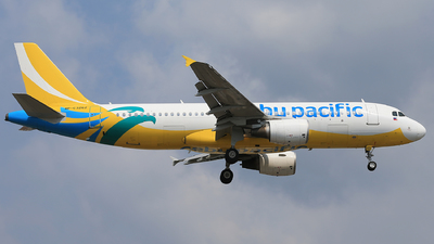 RP-C3262 - Airbus A320-214 - Cebu Pacific Air