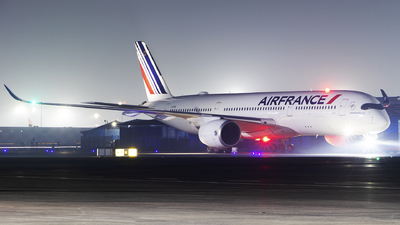 A picture of FHTYD - Airbus A350941 - Air France - © Akshay M
