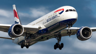 A picture of GZBKR - Boeing 7879 Dreamliner - British Airways - © Kevin Cargo