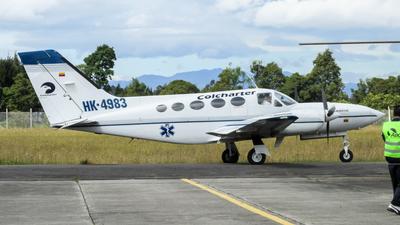 HK-4983 - Cessna 421C Golden Eagle - Colcharter