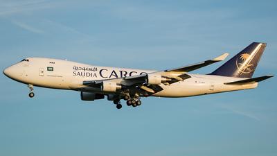 TC-MCT - Boeing 747-412F(SCD) - Saudi Arabian Airlines Cargo (MyCargo)
