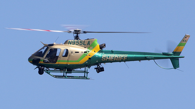N955LA - Eurocopter AS 350B2 Ecureuil - United States - Los Angeles County Sheriff