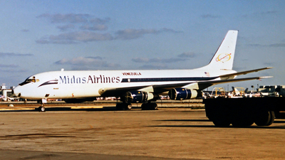 N505FB - Douglas DC-8-51(F) - Midas Air Lines