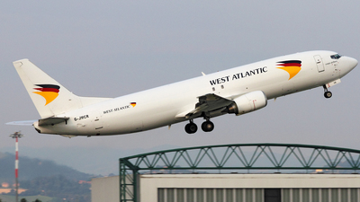 G-JMCR - Boeing 737-4Q8(SF) - West Atlantic Airlines