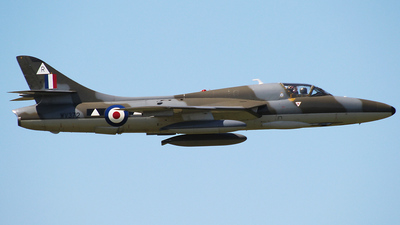 G-BXFI - Hawker Hunter T.7 - Private