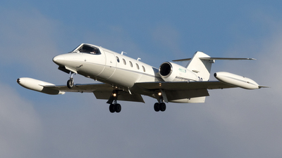 N403DP - Gates Learjet 35A - Private