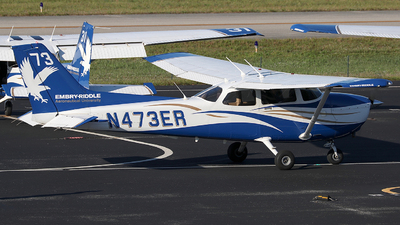 N473ER - Cessna 172S Skyhawk SP - Embry-Riddle Aeronautical University (ERAU)