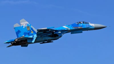 39 - Sukhoi Su-27 Flanker - Ukraine - Air Force