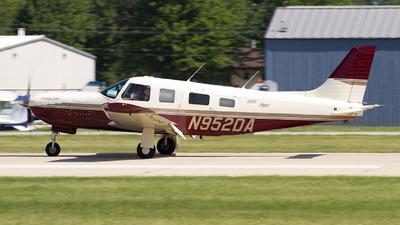 N952DA - Piper PA-32R-301 Saratoga II HP - Private