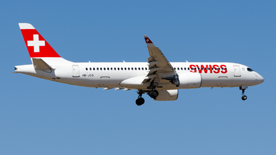 A picture of HBJCG - Airbus A220300 - Swiss - © Alp AKBOSTANCI