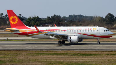 B-1095 - Airbus A320-214 - Chengdu Airlines