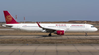 A picture of B1646 - Airbus A321211 - Juneyao Airlines - © BobH