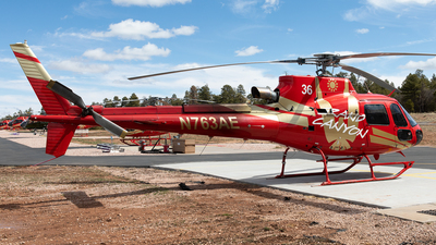N763AE - Eurocopter AS 350B3 Ecureuil - Papillon Grand Canyon Helicopters