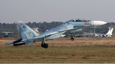 RF-95871 - Sukhoi Su-30M2 - Russia - Air Force