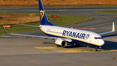 A picture of EIENI - Boeing 7378AS - Ryanair - © Fabian Dirscherl