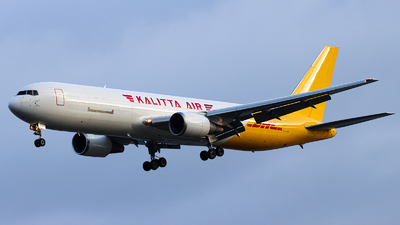 A picture of N762CK - Boeing 7673P6(ER)(BDSF) - DHL - © Luft Spotter