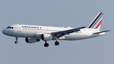 F-GHQL - Airbus A320-211 - Air France