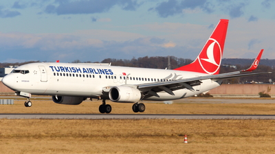 TC-JGK - Boeing 737-8F2 - Turkish Airlines