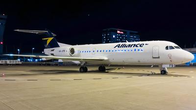 VH-JFB - Fokker 70 - Alliance Airlines