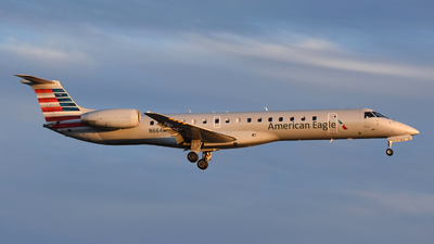 A picture of N664MS - Embraer ERJ145LR - American Airlines - © DJ Reed - OPShots Photo Team