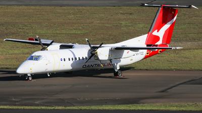 A picture of VHTQZ - De Havilland Canada Dash 8300 - Qantas - © Haozhe Peng
