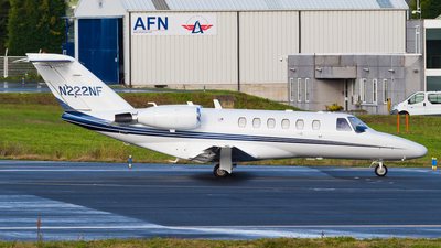 N222NF - Cessna 525A CitationJet 2 - Private