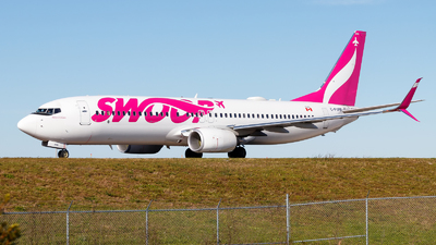 A picture of CFYPB - Boeing 7378CT - Swoop - © Oliver Richter