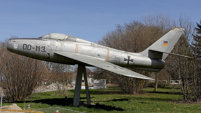 DD-113 - Republic F-84F Thunderstreak - Germany - Air Force
