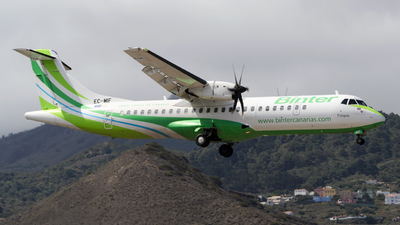 EC-MIF - ATR 72-212A(600) - Binter Canarias (Canarias Airlines)