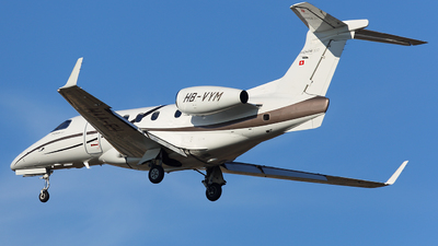 HB-VYM - Embraer 505 Phenom 300 - Private