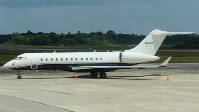 A picture of N823DF - Bombardier Global Express - [9066] - © Thyago Thomas - AirTeamImages