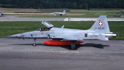 J-3031 - Northrop F-5E Tiger II - Switzerland - Air Force