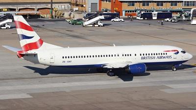 ZS-OAT - Boeing 737-476 - British Airways (Comair)