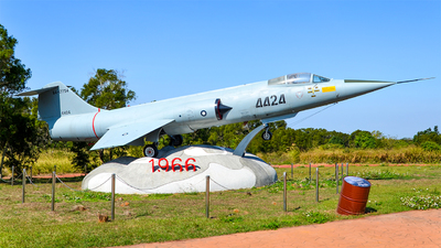 4424 - Lockheed F-104G Starfighter - Taiwan - Air Force