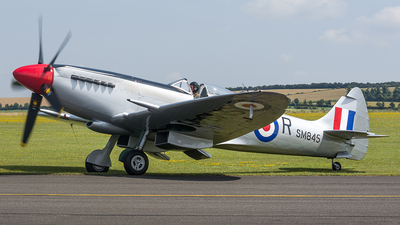 G-BUOS - Supermarine Spitfire XVIIIE - Historic Flying