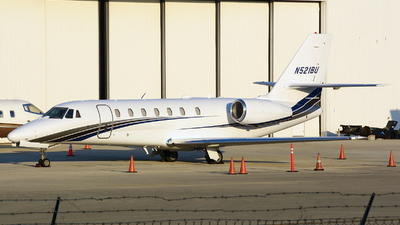 N521BU - Cessna 680 Citation Sovereign - Private