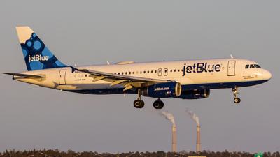 N612JB - Airbus A320-232 - jetBlue Airways
