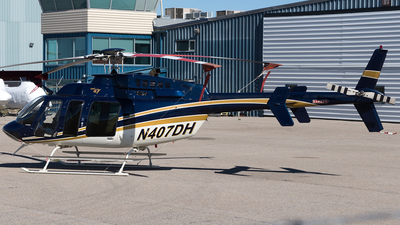 N407DH - Bell 407 - Private