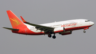 S2-AHD - Boeing 737-7K5 - Regent Airways
