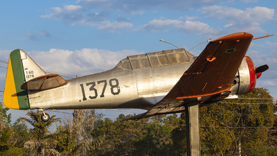 FAB1378 - North American T-6D Texan - Brazil - Air Force