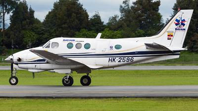A picture of HK2596 - Beech C90 King Air - [LJ957] - © Alex Rivera