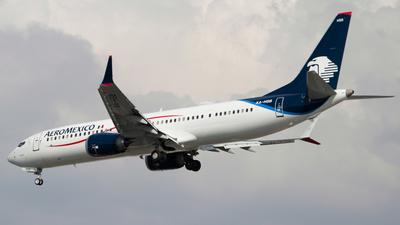 XA-HSB - Boeing 737-9 MAX - Aeromexico