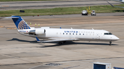 N417SW - Bombardier CRJ-200LR - United Express (SkyWest Airlines)
