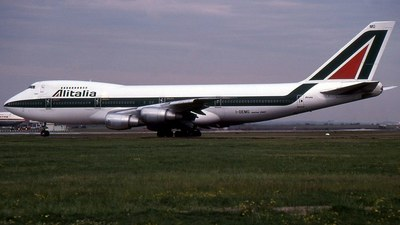 I-DEMG - Boeing 747-243B - Alitalia