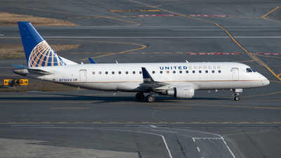 A picture of N730YX - Embraer E175LR - United Airlines - © Aditya Saligrama