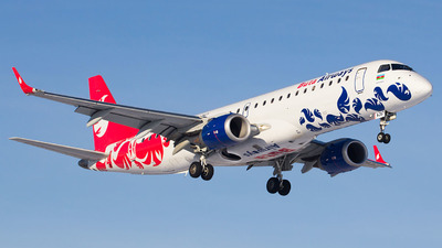 4K-AZ67 - Embraer 190-100IGW - Buta Airways