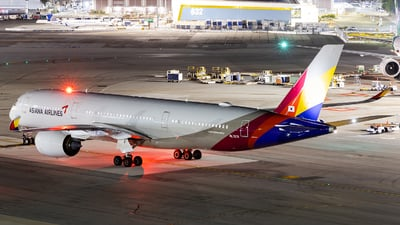 A picture of HL7578 - Airbus A350941 - Asiana Airlines - © Leung Gordon