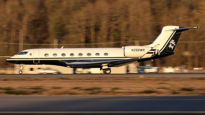N288WR - Gulfstream G650 - Private